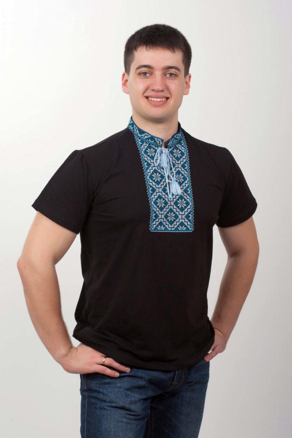 Чоловіча вишита футболка