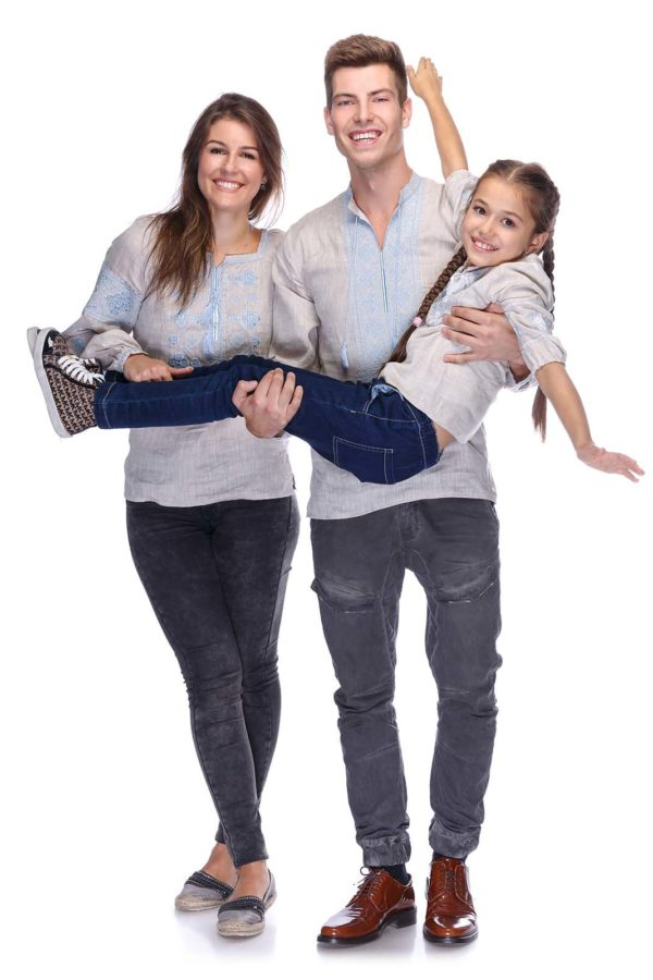 Вишиванки для родини
