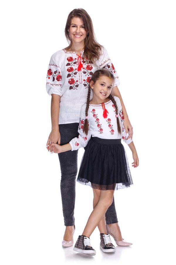 Вышиванки для всей семьи Розы