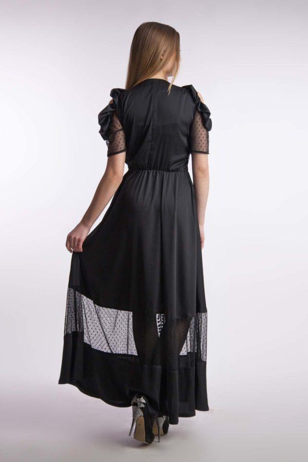 Вечернее платье шелк в пол
